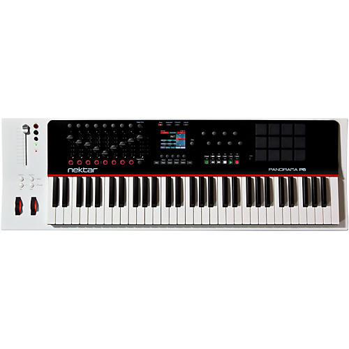 Nektar Panorama P6 61-Key USB MIDI Controller Keyboard