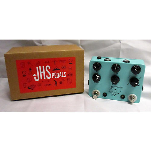 JHS Pedals Panther Cub Analog Delay With Tap Tempo V1.5 Effect Pedal-thumbnail