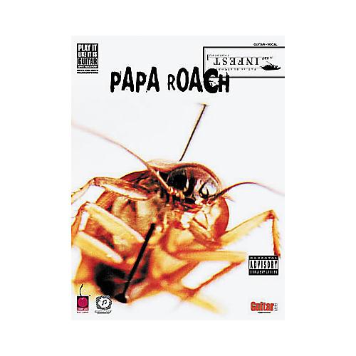 Hal Leonard Papa Roach - Infest Book-thumbnail