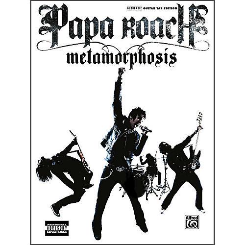 Alfred Papa Roach - Metamorphosis Guitar Tab Book