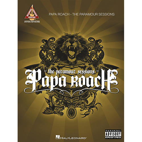 Hal Leonard Papa Roach - The Paramour Sessions (Guitar Tab Songbook)-thumbnail