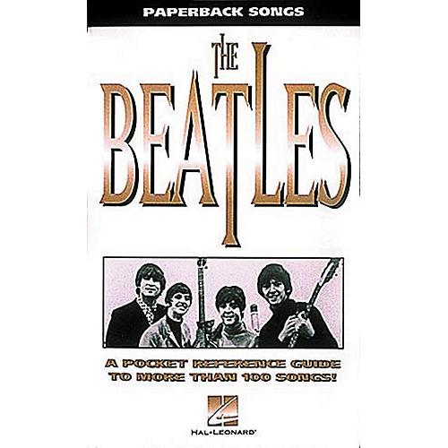 Hal Leonard Paperback Songs - Pocketsize Beatles Guitar Tab Book-thumbnail