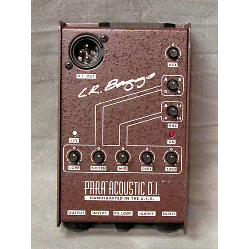 In Store Used Para Acoustic D.I. Brown Pedal-thumbnail