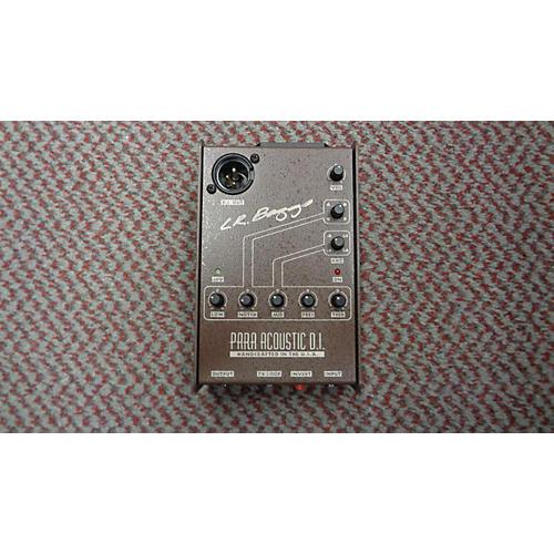 LR Baggs Para Acoustic DI Direct Box Pre With EQ Acoustic Guitar Pickup-thumbnail