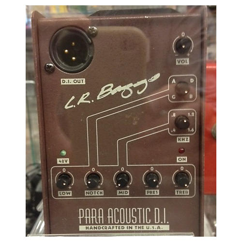 LR Baggs Para Acoustic DI Direct Box Pre With EQ Acoustic Guitar Pickup-thumbnail