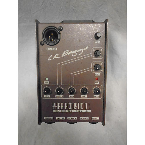 LR Baggs Para Acoustic DI Direct Box Pre With EQ Acoustic Guitar Pickup