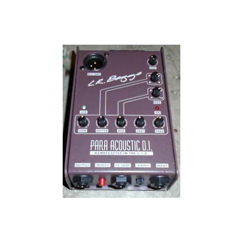 LR Baggs Para Acoustic DI Direct Box Pre With EQ STRG GTR/BAS PICKUPS-thumbnail