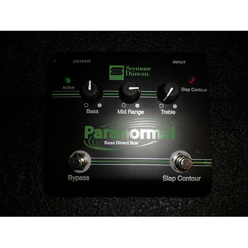 Seymour Duncan Para Normal Bass Bass Effect Pedal