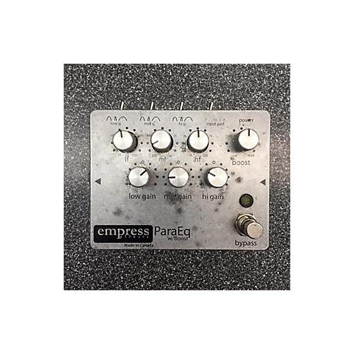 Empress Effects ParaEq With Boost EQ Pedal-thumbnail