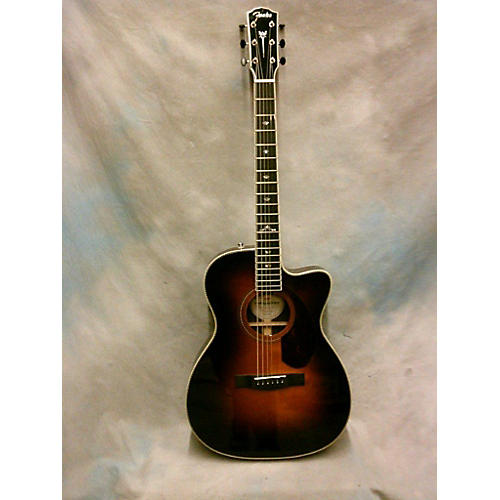 Fender Paramount PM-3 Deluxe Acoustic Electric Guitar