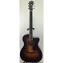 Fender Paramount PM-3 Deluxe Triple-0 Acoustic Electric Guitar