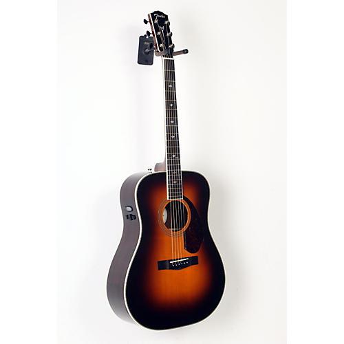 blemished fender paramount series pm 1 deluxe dreadnought acoustic electric guitar vintage. Black Bedroom Furniture Sets. Home Design Ideas