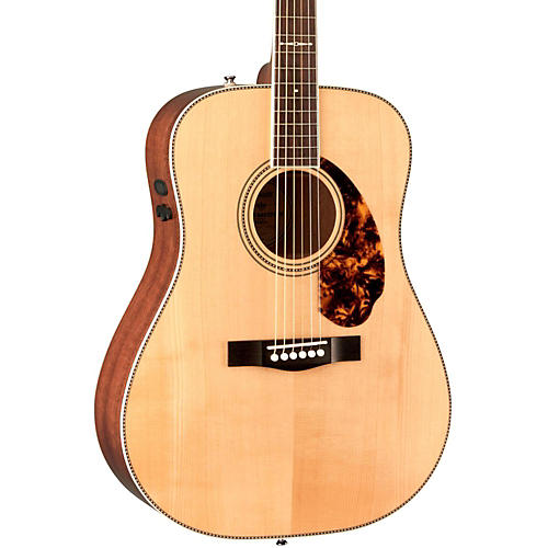 Fender Paramount Series PM-1 Limited Adirondack Dreadnought, Mahogany Acoustic-Electric Guitar-thumbnail