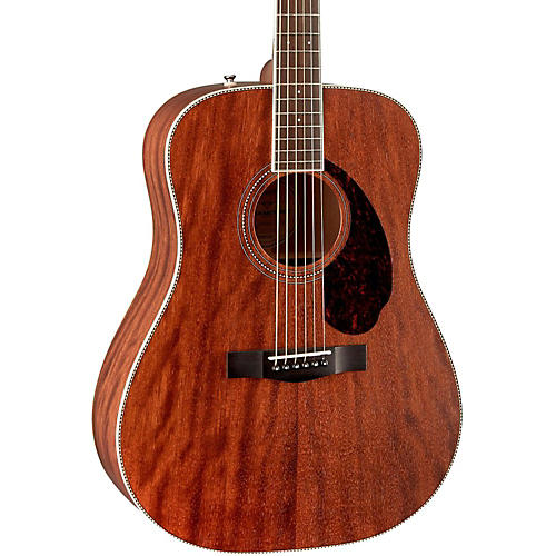 Fender Paramount Series PM-1 Standard All-Mahogany Dreadnought Acoustic Guitar