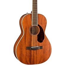 Fender Paramount Series PM-2 Standard All-Mahogany Parlor Acoustic Guitar