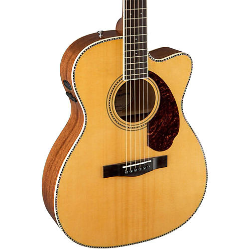 Fender Paramount Series PM-3 000 Acoustic-Electric Guitar Natural