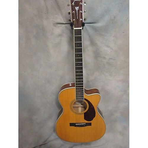 Fender Paramount Series PM-3 Acoustic Electric Guitar Natural