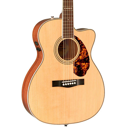 Fender Paramount Series PM-3 Limited Edition Mahogany Triple-0 Acoustic-Electric Guitar Natural