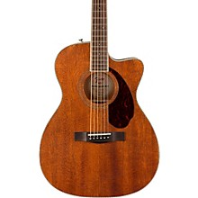 Fender Paramount Series PM-3 Standard All-Mahogany Cutaway Triple-0 Acoustic Guitar