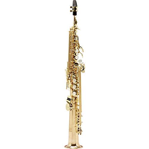 Allora Paris Series Professional Straight Soprano Saxophone with 2 Necks-thumbnail