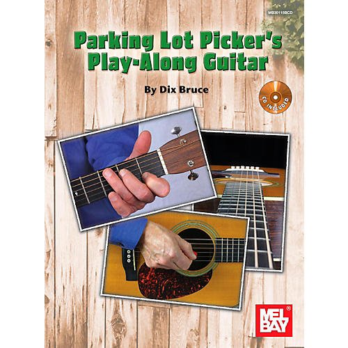 Mel Bay Parking Lot Picker's Play-Along Guitar-thumbnail