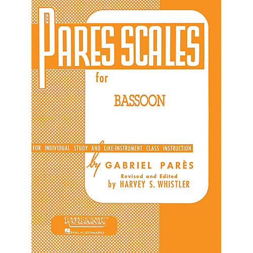 Hal Leonard Par¨s Scales For Bassoon-thumbnail