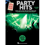 Hal Leonard Party Hits - Rock Band Camp Vol. 6 (Book/2-CD Pack) for Vocal Guitar Keys Bass Drums