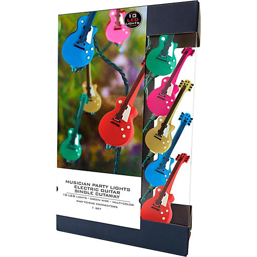 Axe Heaven Party Lights Electric Guitar Single Cutaway LED Edition-thumbnail