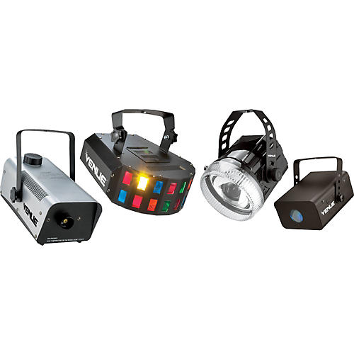 Venue Party Pack with Lighting Effects and Fog Machine-thumbnail