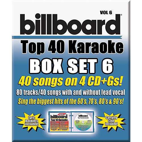 Universal Music Group Party Tyme Karaoke - Billboard Box Set 6-thumbnail