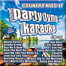 Sybersound Party Tyme Karaoke - Country Hits 17