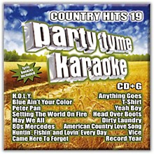Sybersound Party Tyme Karaoke - Country Hits 19