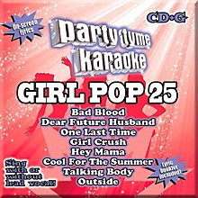 Sybersound Party Tyme Karaoke - Girl Pop 25