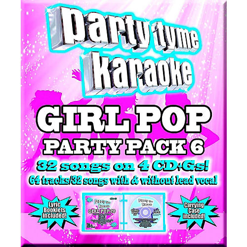 SYBERSOUND Party Tyme Karaoke - Girl Pop Party Pack 6-thumbnail