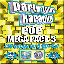 Sybersound Party Tyme Karaoke - Pop Mega Pack 3