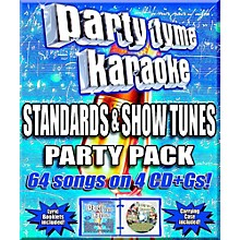 Sybersound Party Tyme Karaoke - Standards & Showtunes Party Pack