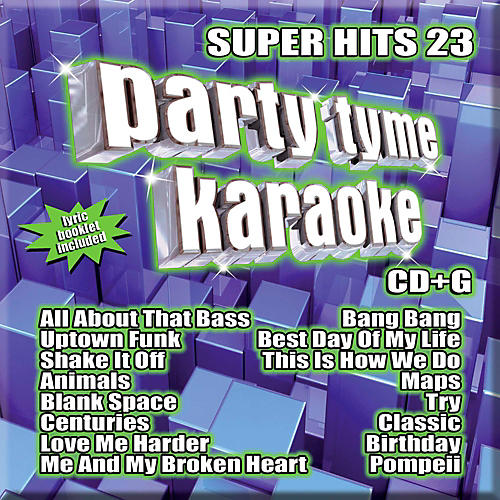 Sybersound Party Tyme Karaoke - Super Hits 23