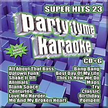 Sybersound Party Tyme Karaoke - Super Hits 24