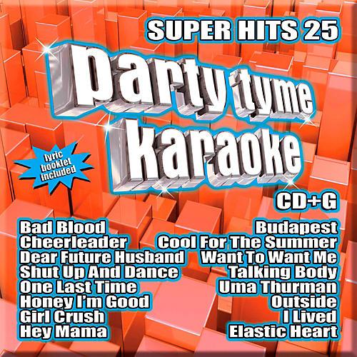 SYBERSOUND Party Tyme Karaoke - Super Hits 25-thumbnail