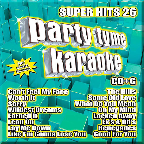 SYBERSOUND Party Tyme Karaoke - Super Hits 26-thumbnail