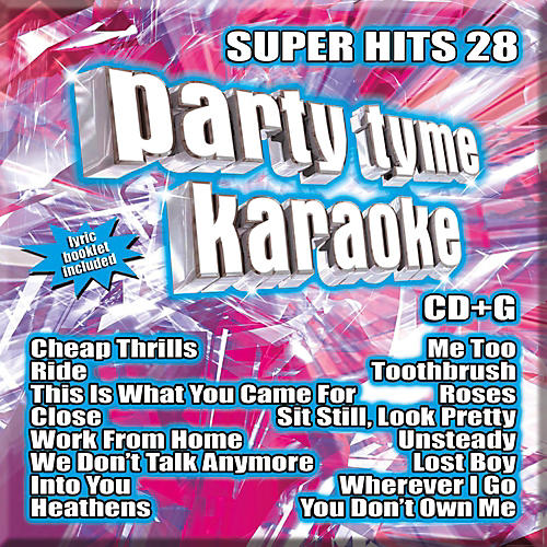 Sybersound Party Tyme Karaoke - Super Hits 28