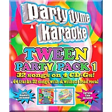 Sybersound Party Tyme Karaoke - Tween Party Pack 1