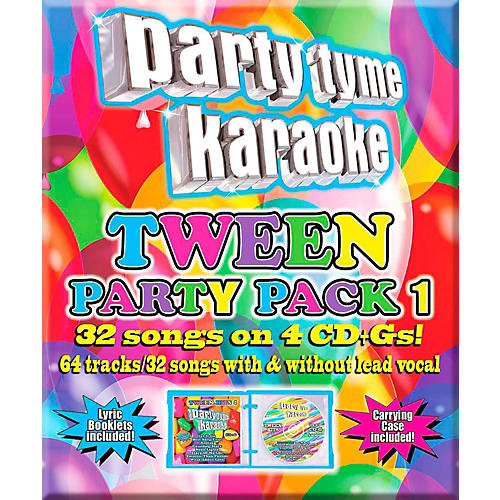 SYBERSOUND Party Tyme Karaoke - Tween Party Pack 1-thumbnail