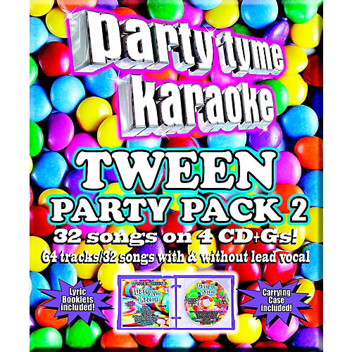 SYBERSOUND Party Tyme Karaoke - Tween Party Pack 2-thumbnail