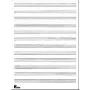 Passantino Manuscript Paper Old #51, 12 Stave, 80 Pages, 9X12