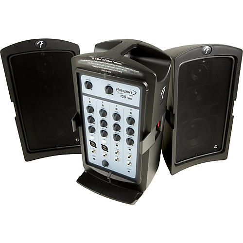 Fender Passport 150 PRO Portable PA System-thumbnail