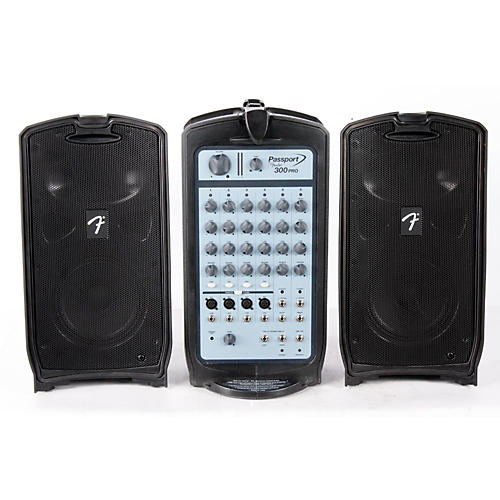 Fender Passport 300 Pro Portable PA System  888365191157