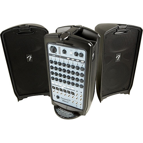 fender passport 500 pro portable pa system guitar center. Black Bedroom Furniture Sets. Home Design Ideas