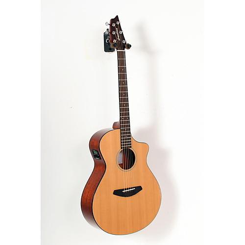 Breedlove Passport Concert Acoustic- Electric Guitar Natural 888365187792