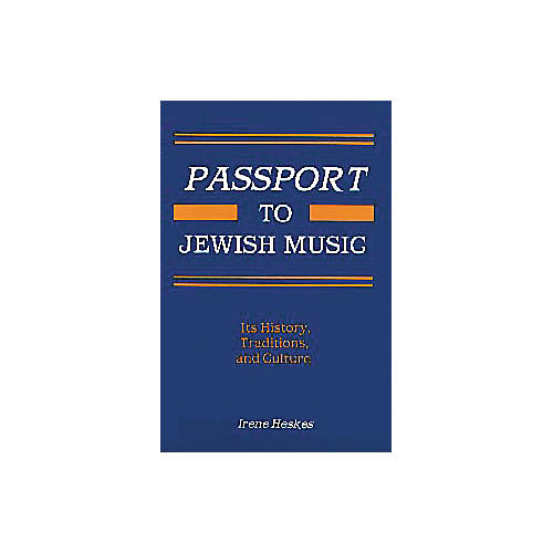 Tara Publications Passport to Jewish Music Book